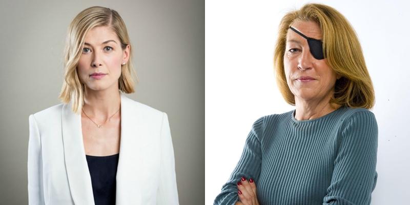 'Rosamund Pike' poderá interpretar a repórter de guerra Marie Colvin em cinebiografia