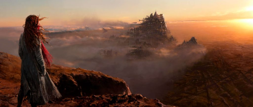 Peter Jackson revela primeira arte conceitual do filme Mortal Engines