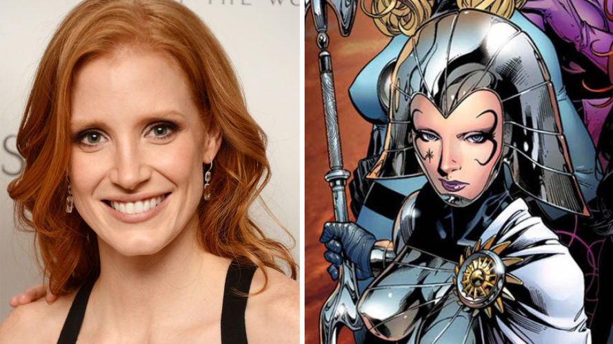 Jessica Chastain pode interpretar a vilã de 'X-men: Dark Phoenix'