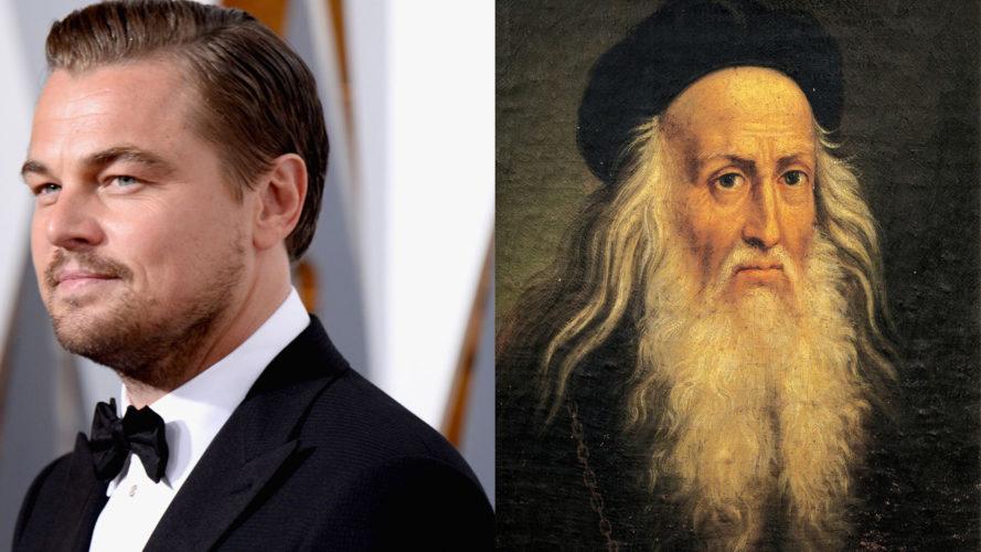 Di Caprio será Leornado da Vinci em filme sobre a vida do artista