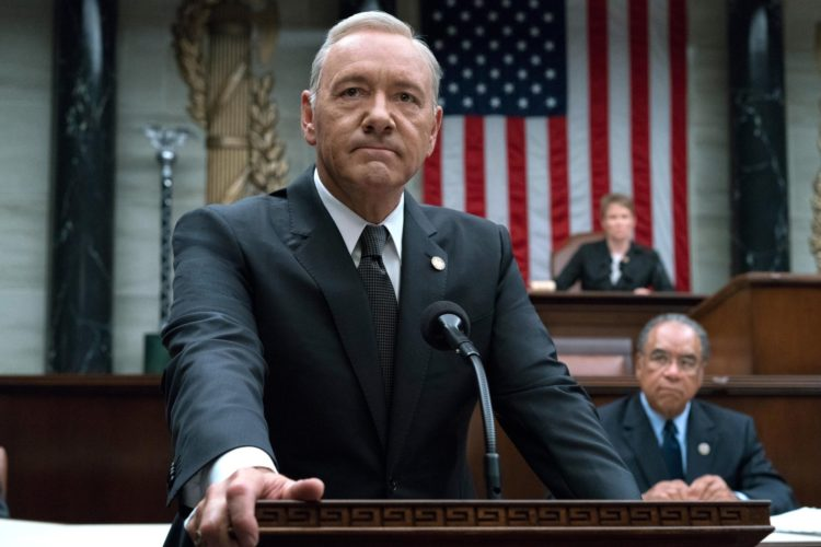 Netflix demite Kevin Spacey da série 'House of Cards'