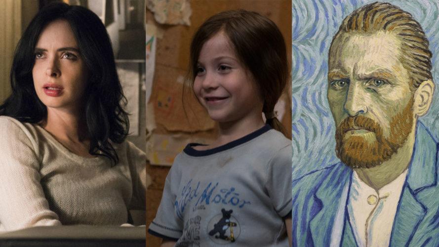 Netflix em março | 'Jessica Jones', 'O Quarto de Jack', 'Com Amor, Van Gogh' e muito mais!